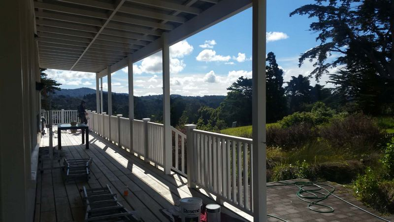 Beachlands Porch And Deck Blastrade Painting House