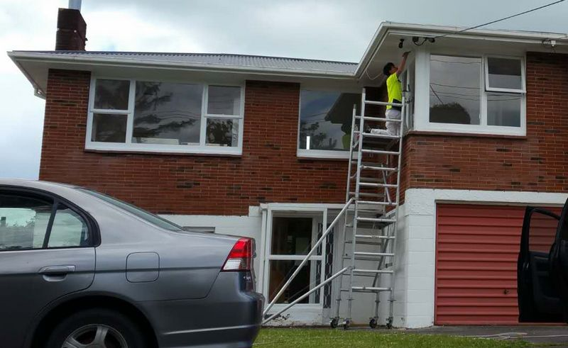 Howick House Exterior Maintenance Painting | House Painters